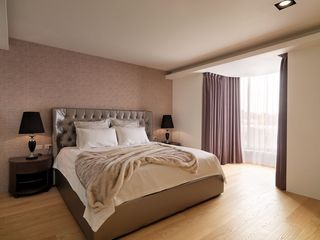 时尚现代卧室窗帘设计