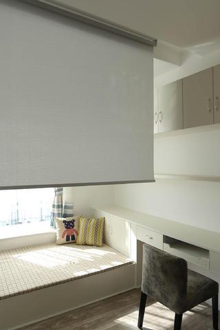 北欧混搭三居之家窗帘图片