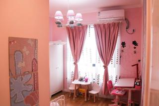 北欧温馨二居装修窗帘图片
