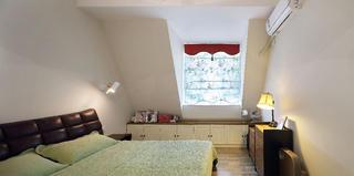 复式北欧风格家窗帘图片