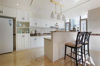 350平米美式别墅装修吧台设计图