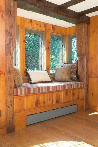 实木飘窗设计图