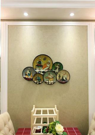 美式家装相片墙装潢图
