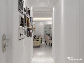 90㎡现代风格三居室装修照片墙布置图