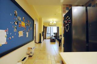 小户型美式风格家照片墙