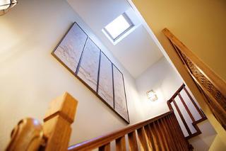 混搭四居室装修楼梯空间设计