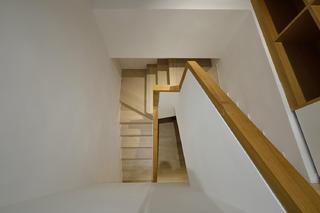 极简复式装修楼梯图片