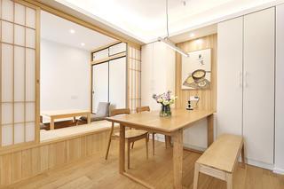 二居室简约日式家榻榻米图片