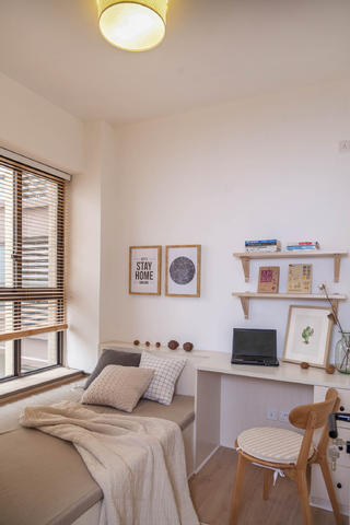 三居室北欧风之家榻榻米卧室设计