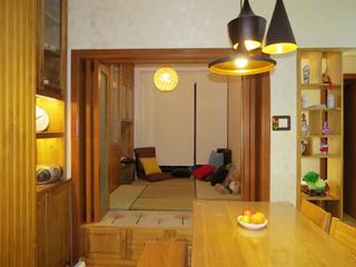 76平简约风格三居装修榻榻米房设计