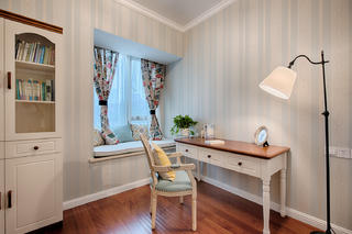 三居室美式风格家书房设计图