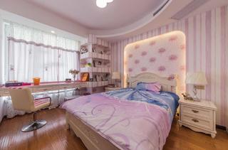 140平欧式风格装修儿童房欣赏图