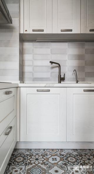 美式两居装修橱柜图片