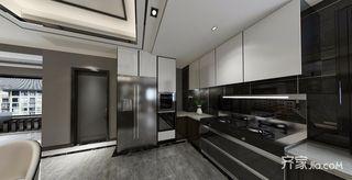 现代简约低奢三居装修橱柜设计图