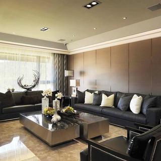 后现代雅致风别墅装修沙发图片