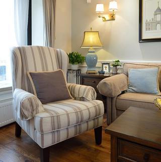大户型现代美式装修沙发图片