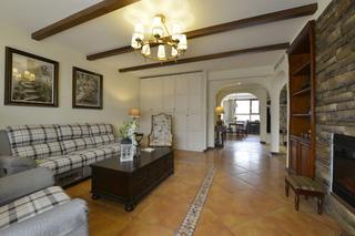 大户型美式风格家沙发墙图片