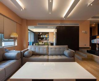 时尚现代家居灰色沙发装饰图
