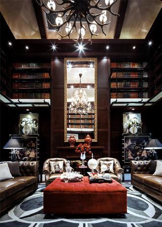 法式别墅装修设计沙发图片