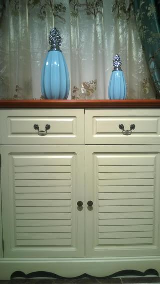 地中海两居室装修鞋柜图片