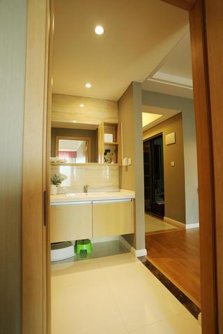北欧风格二居浴室柜图片