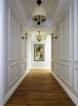大户型美法混搭装修走廊图片