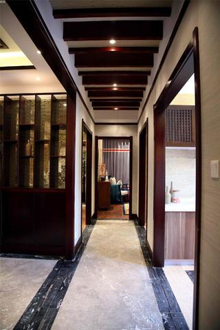 东南亚风格三居室装修过道图片
