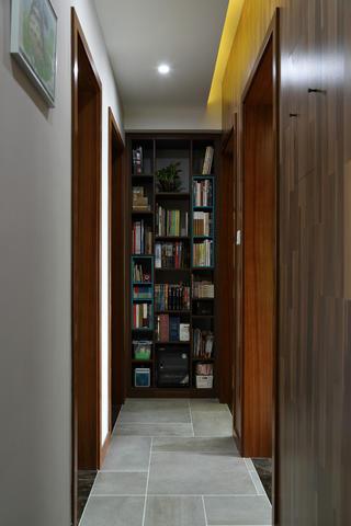 110㎡简美二居装修走廊图片