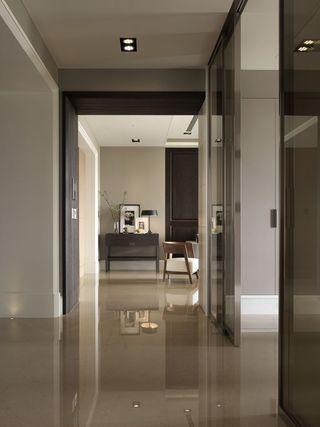 现代简约过道门厅设计