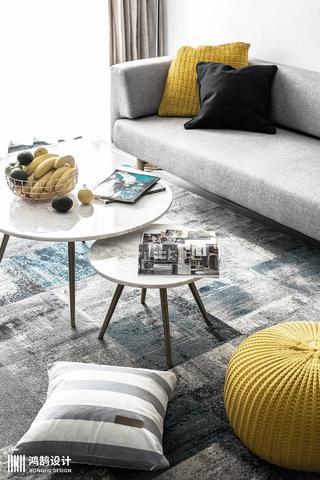 100㎡北欧风格家地毯图片