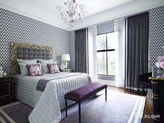 140㎡现代三居室卧室装修效果图