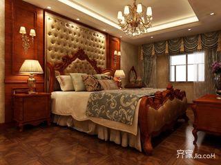 100平欧式风格装修卧室效果图