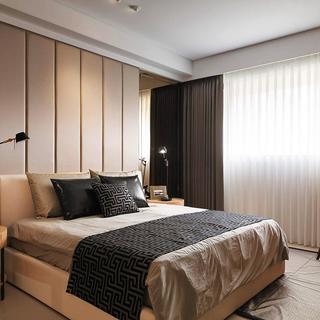 后现代四房装修卧室搭配图