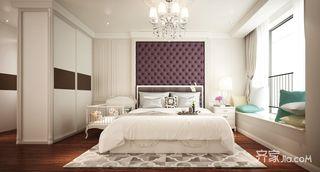 130平轻法式风格卧室装修效果图