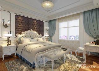 103平欧式风格三居卧室装修效果图