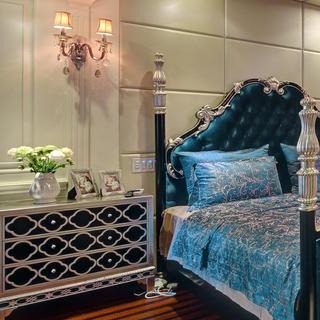 新古典别墅装修卧室搭配图