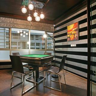 现代简约四房娱乐室设计图