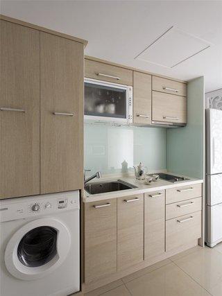 时尚简约现代厨房橱柜装饰
