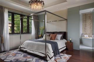 大户型现代简约装修卧室设计图