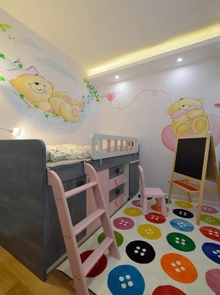 缤纷多彩现代儿童房设计效果图大全