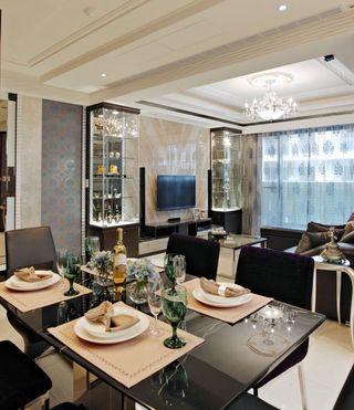 精致现代风格餐厅设计图