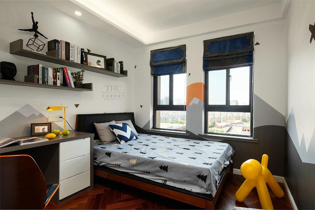 现代简约风格卧室装修搭配图