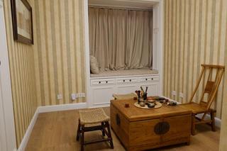 175㎡经典美式装修茶室欣赏图