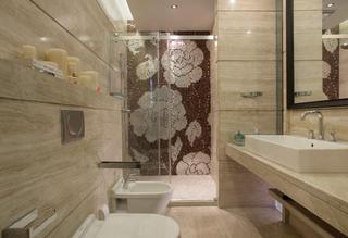 中式风格别墅设计卫生间装潢图