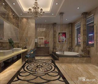 168平欧式风格四房卫生间装修效果图