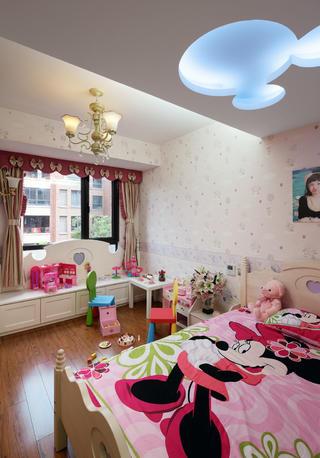 170平欧式装修儿童房布置图