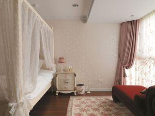 欧式田园卧室软装欣赏