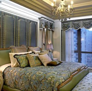 欧式三居装修卧室布置图
