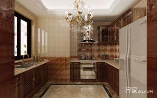 120㎡欧式风格二居厨房装修效果图