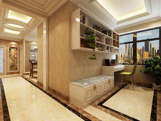 120平欧式装修门厅设计图